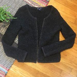 GAP zip jacket wool xsmall